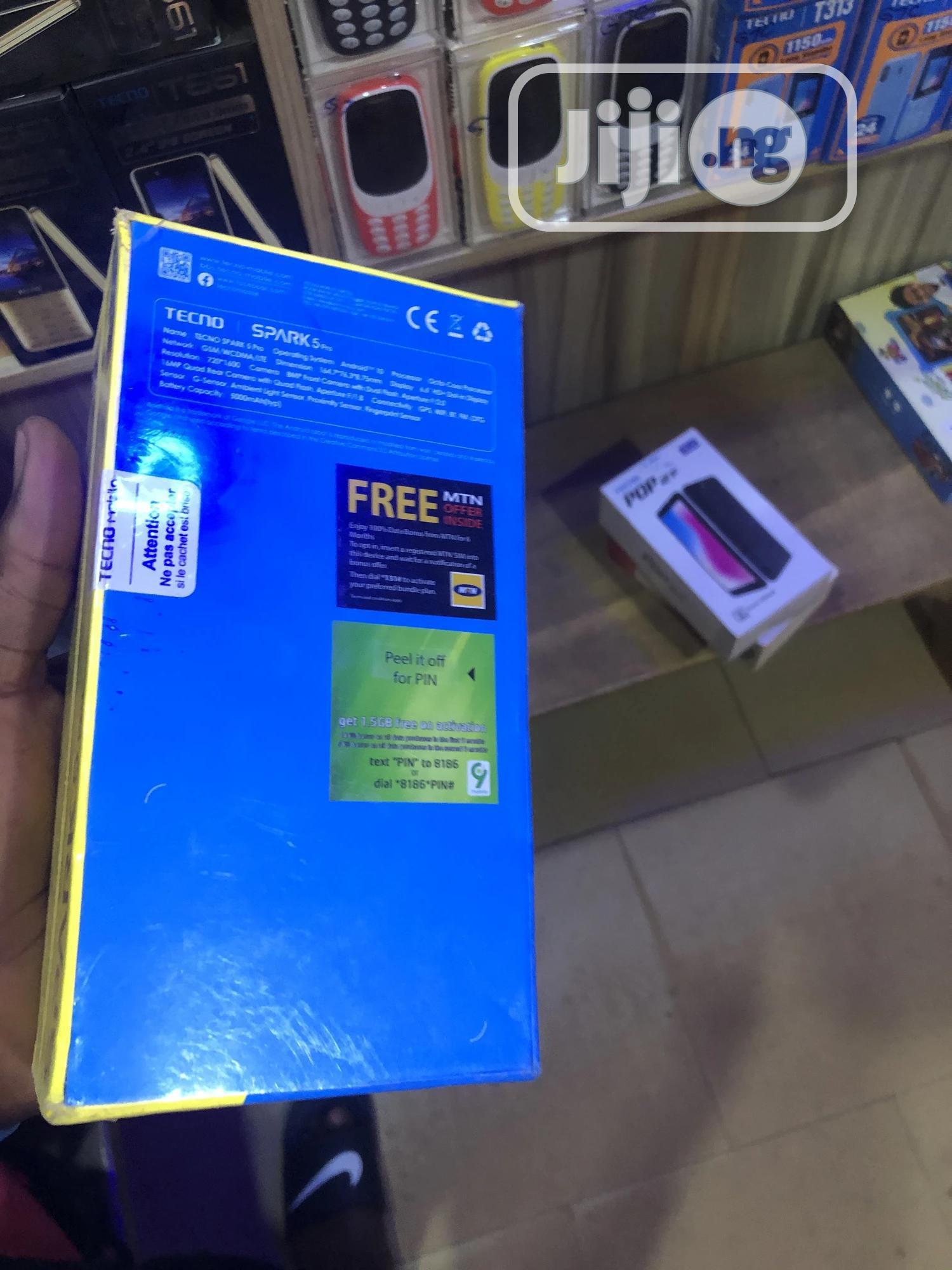New Tecno Spark 5 Pro 64 GB | Mobile Phones for sale in Kubwa, Abuja (FCT) State, Nigeria