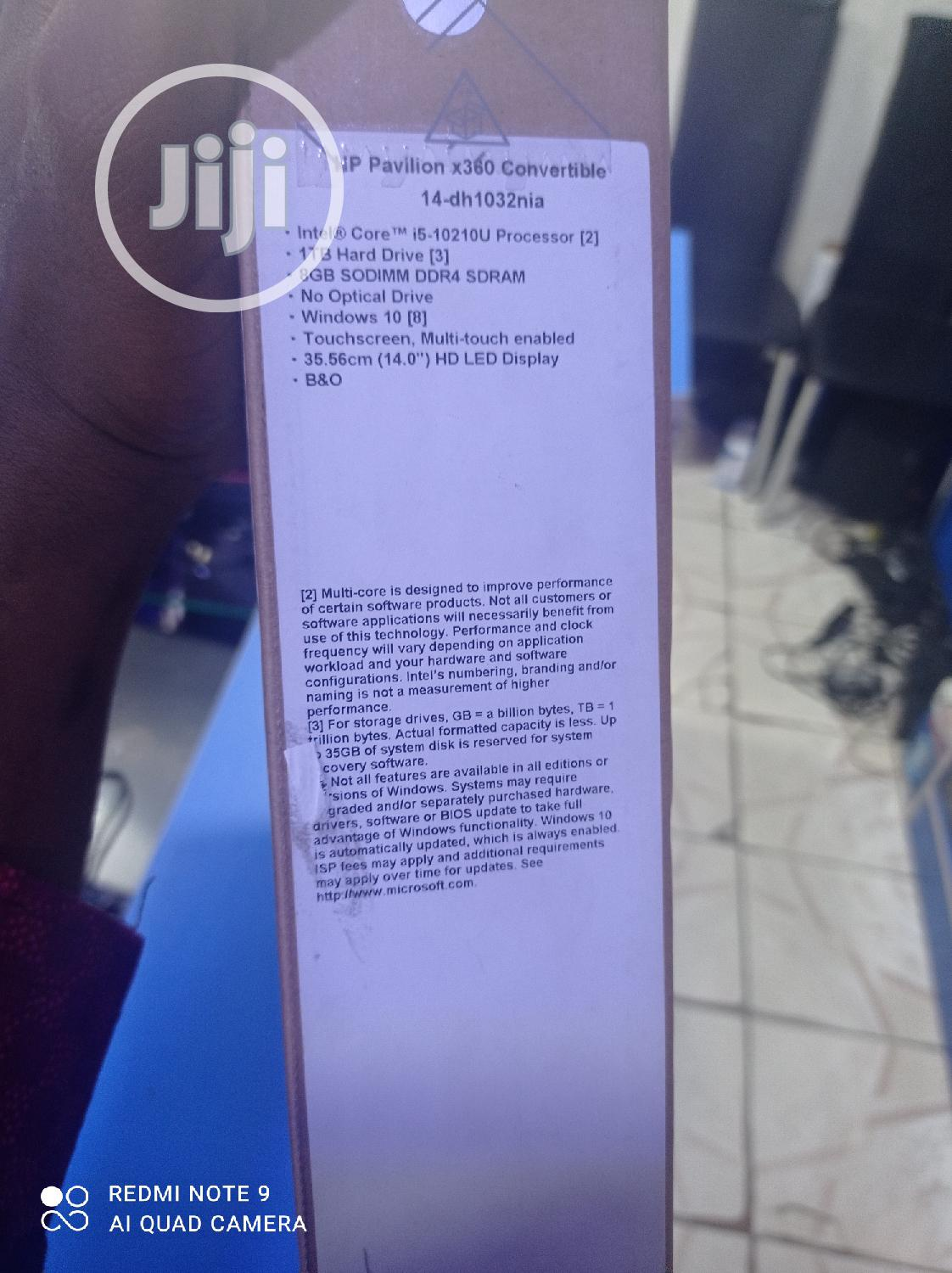 New Laptop HP Pavilion X360 8GB Intel Core i5 HDD 1T | Laptops & Computers for sale in Port-Harcourt, Rivers State, Nigeria