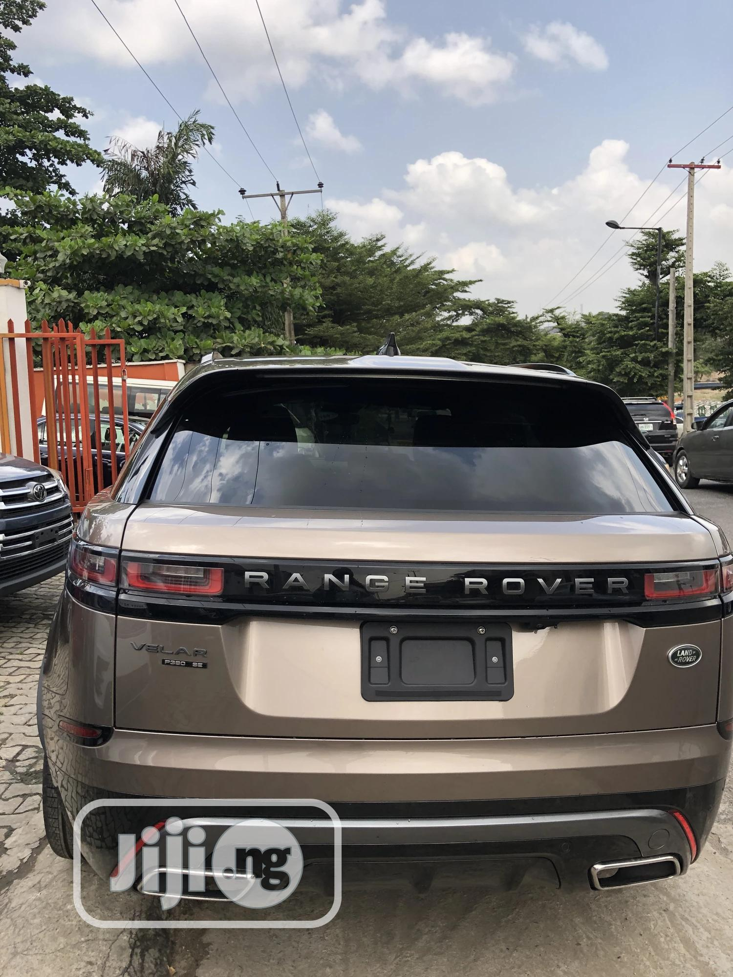 Land Rover Range Rover Velar 2018 P380 SE R-Dynamic 4x4 Brown | Cars for sale in Magodo, Lagos State, Nigeria