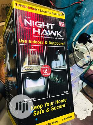 Night Hawk Wireless Motion Activated LED Light   Security & Surveillance for sale in Lagos State, Ojo