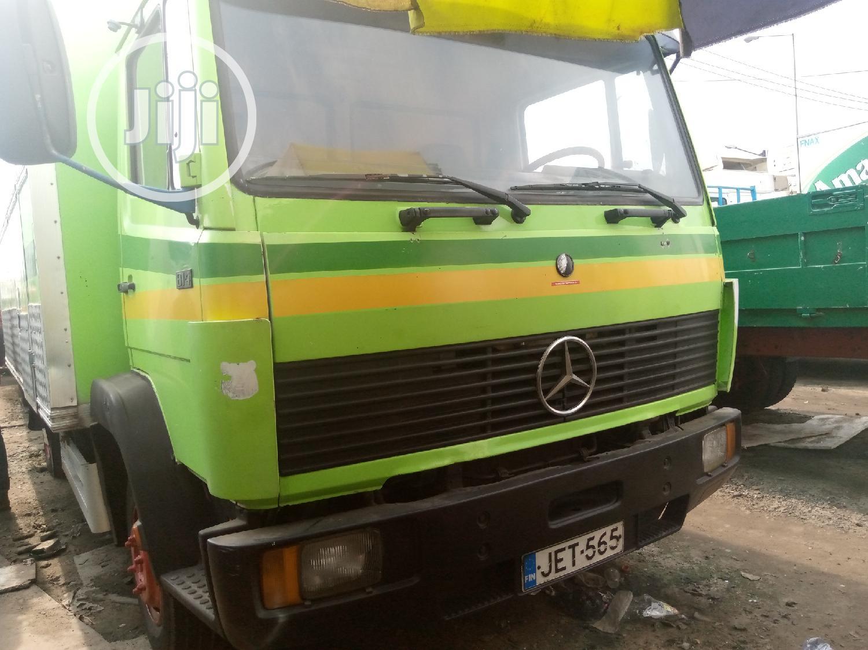 Mercedes-Benz Truck 814 Green | Trucks & Trailers for sale in Apapa, Lagos State, Nigeria