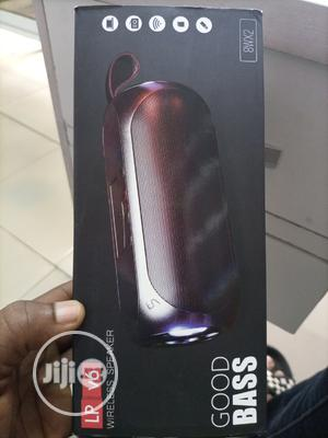 LP Portable Wireless Bluetooth Speaker With Phone Holder-v6   Audio & Music Equipment for sale in Lagos State, Shomolu