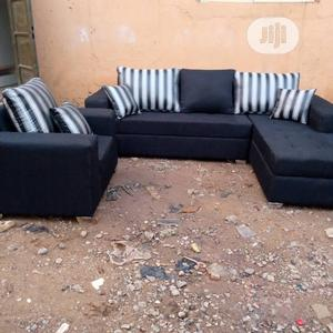 Well Furnished 6 Seaters L-Shape Chairs With One Single   Furniture for sale in Lagos State, Ikeja