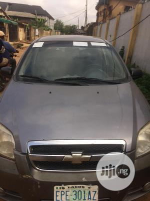 Chevrolet Aveo 2012 1.6 Gray | Cars for sale in Lagos State, Ikeja