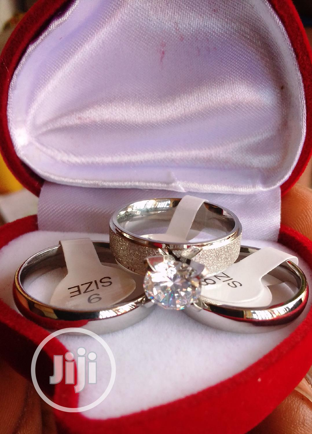 Silver Wedding Ring Set | Wedding Wear & Accessories for sale in Mpape, Abuja (FCT) State, Nigeria