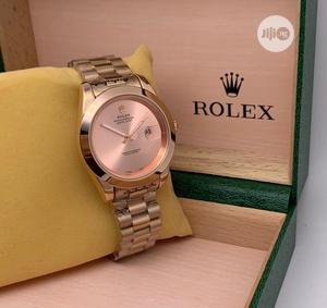 Swiss Made Rolex Rose Gold Wrist Watch   Watches for sale in Lagos State, Ojo