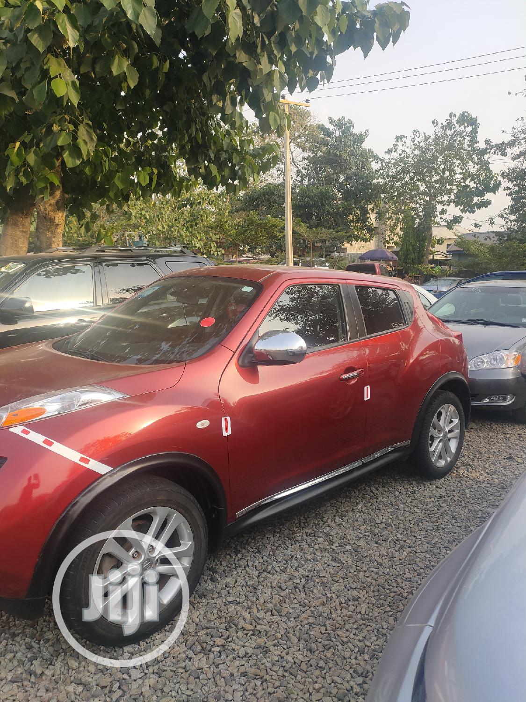 Archive: Nissan Juke 2013 SL Red