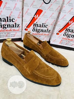 Brown Suede Penny Loafer | Shoes for sale in Lagos State, Ikoyi