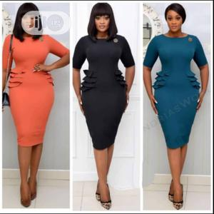 New Ladies Coperate Fitted Gown | Clothing for sale in Lagos State, Lagos Island (Eko)