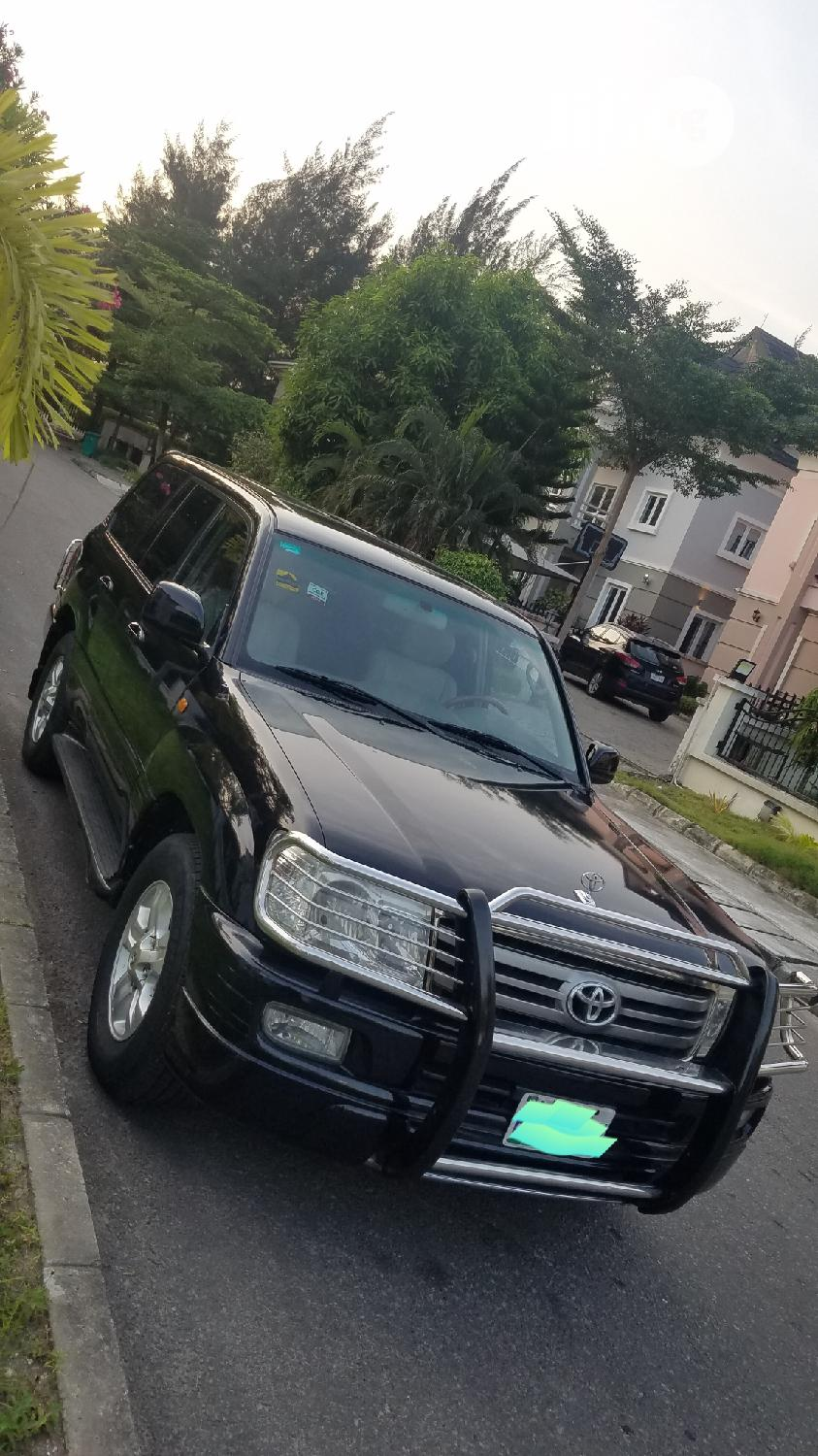 Toyota Land Cruiser 2008 Black