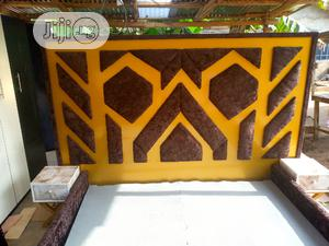 Gold Hard Board Bed | Furniture for sale in Lagos State, Badagry