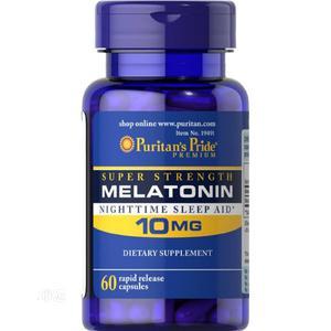 Puritans Pride Super Strength Melatonin Sleep Aid 10mg   Vitamins & Supplements for sale in Enugu State, Enugu