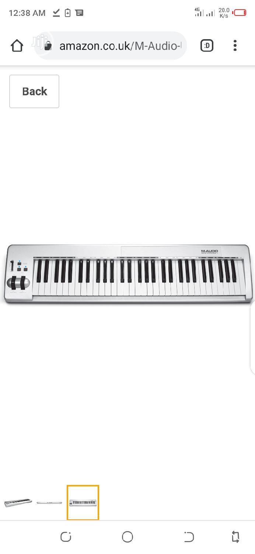 Archive: M-Audio Keystation 61es Semi-Weighted Usb Midi Keyboard