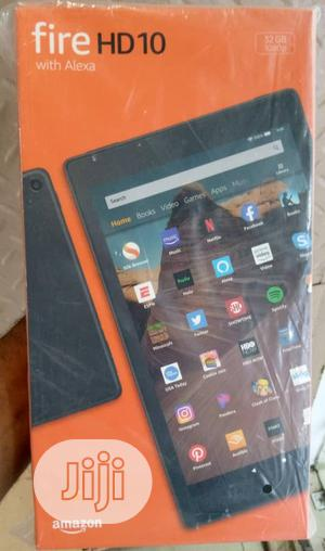 New Amazon Fire HD 10 32 GB Black   Tablets for sale in Lagos State, Ikeja