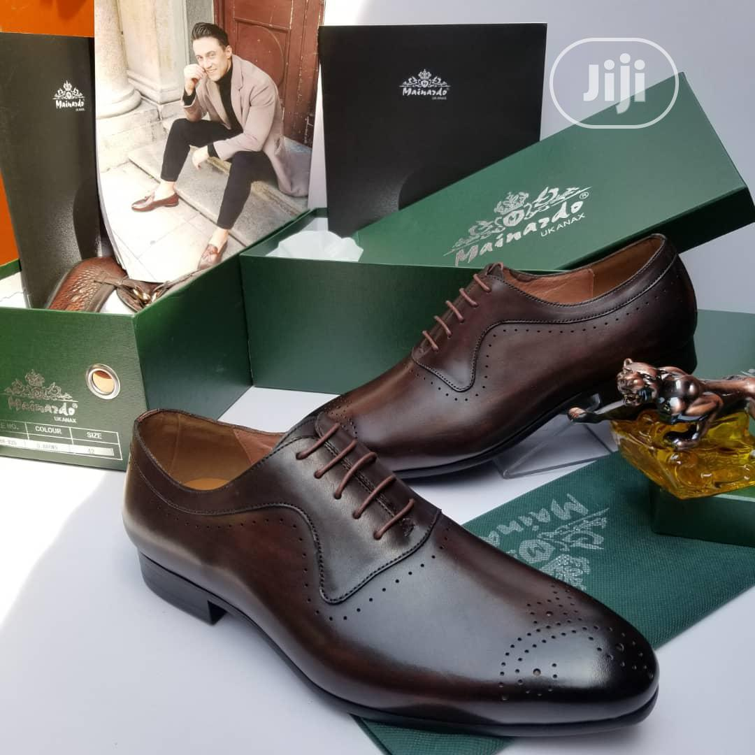 Quality Leather Italian Shoes