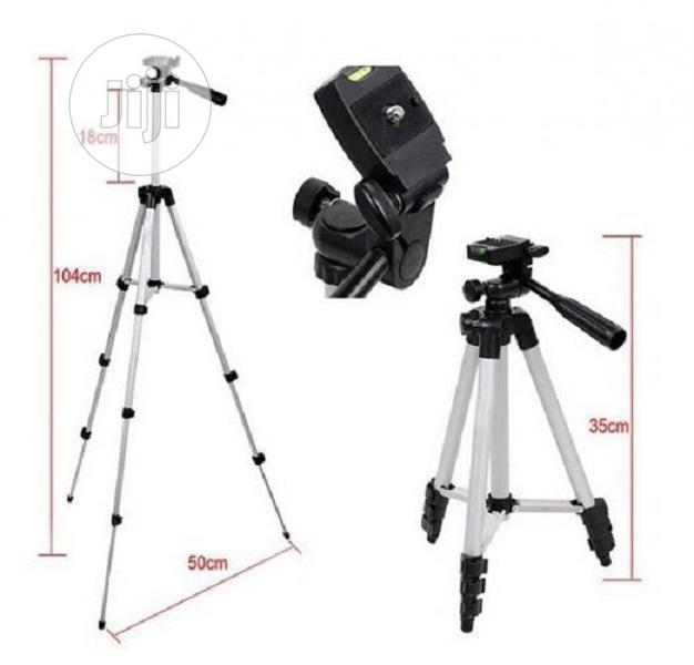 Mobile Tripod Stand With Clip Lens & Phone Ring Light | Accessories for Mobile Phones & Tablets for sale in Ikeja, Lagos State, Nigeria