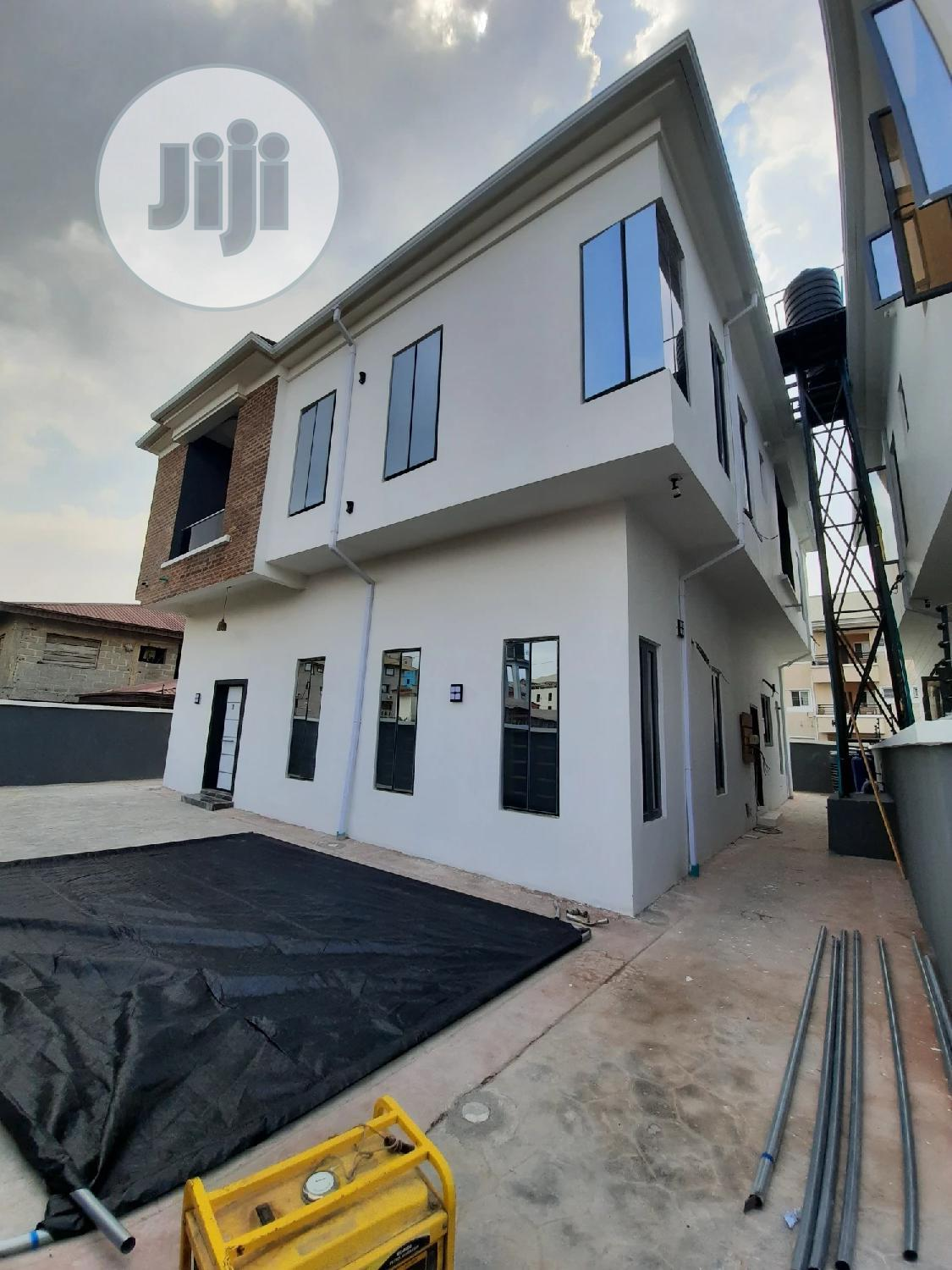 A Newly Built 5bedrooms Fully Detached Duplex With Bq