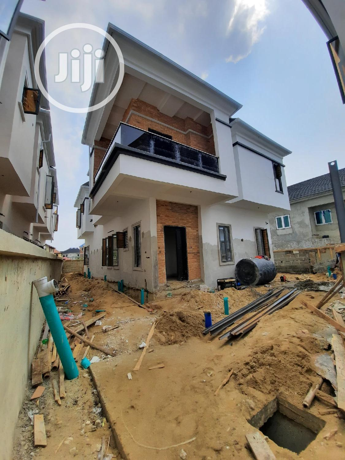 5bedrooms Fully Detached Duplex With Bq
