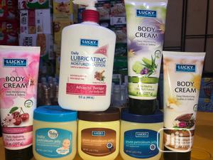 Lucky Moisturizing Lotion and Body Cream | Skin Care for sale in Lagos State, Surulere