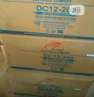 200ah 12V Ritar Battery | Solar Energy for sale in Lagos State, Ojo