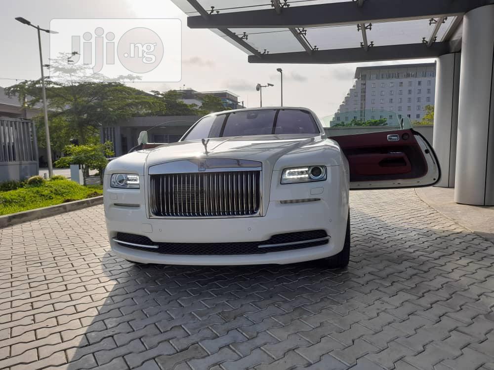 Rolls-Royce Ghost 2016 Base EWB White