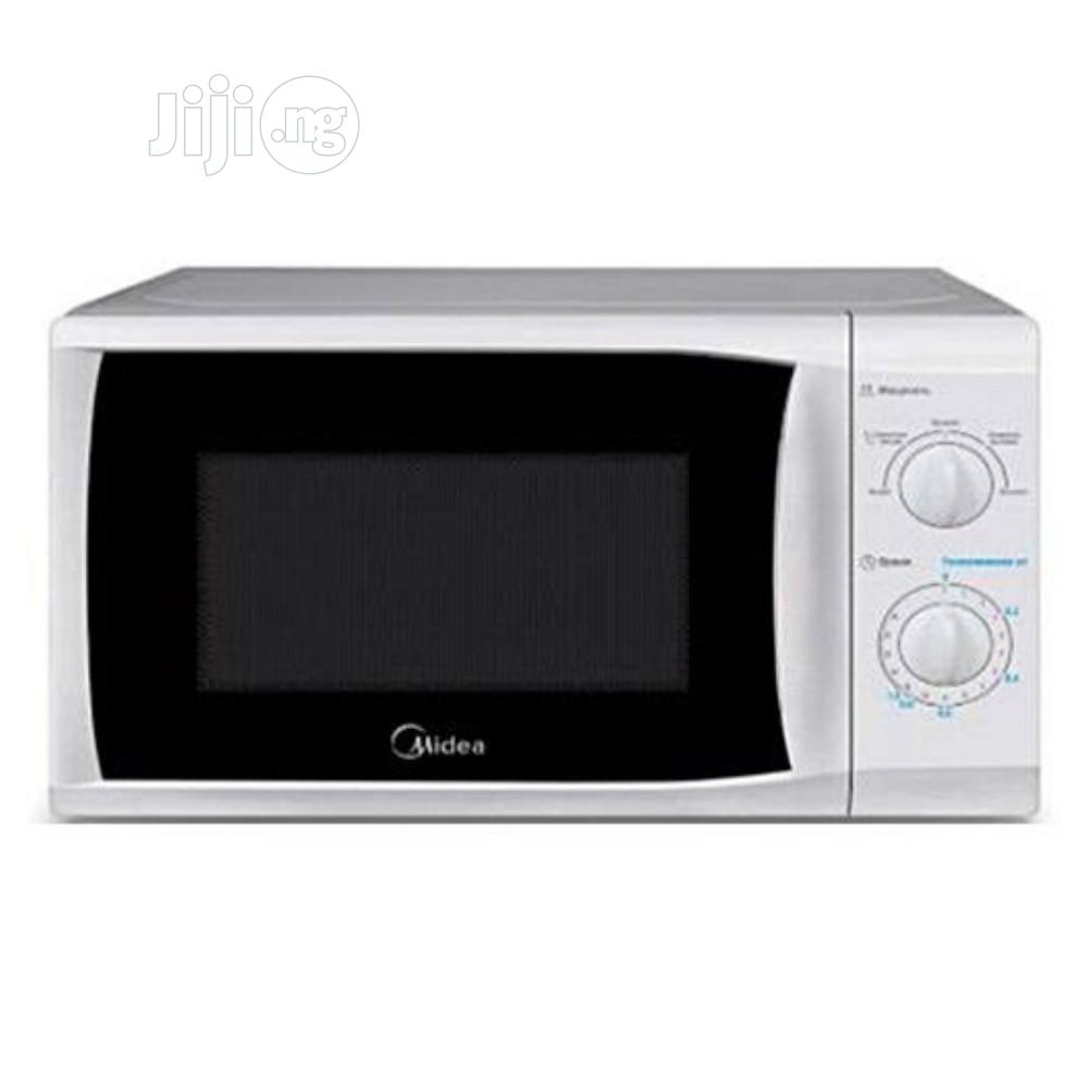 Archive: Midea Microwave Oven -Mg720cfb-Pm 20l-White