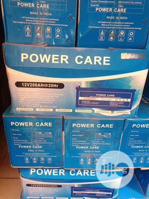 Power Care 200ah 12volts Solar Battery | Solar Energy for sale in Lagos State, Ajah