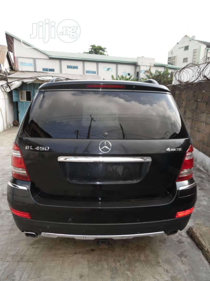 Mercedes-Benz GL Class 2007 GL 450 Black | Cars for sale in Ikeja, Lagos State, Nigeria