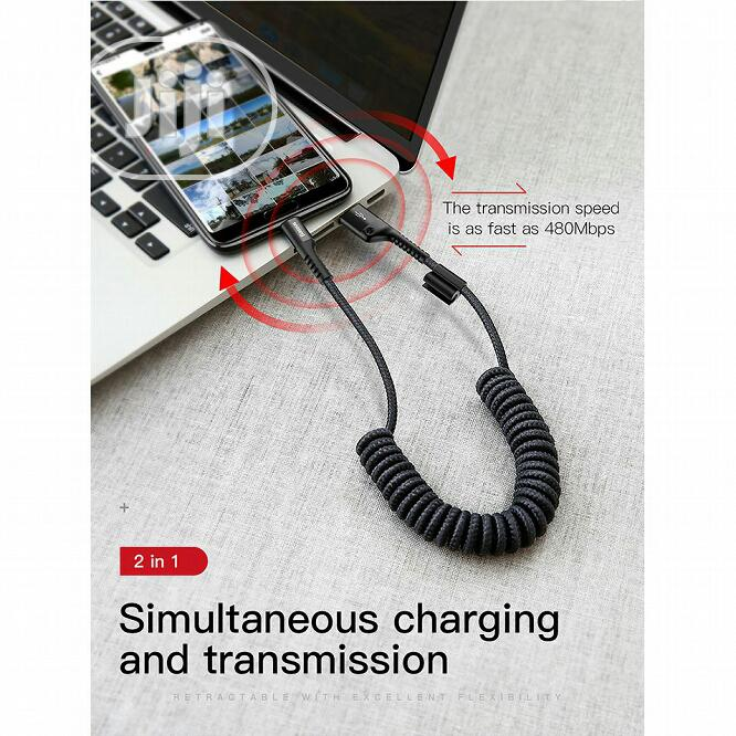 Baseus Cable Fish Eye Spring Data Cable Type