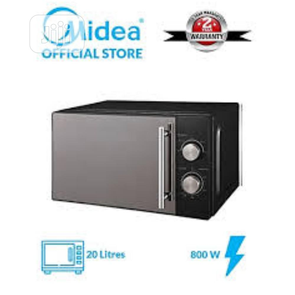 Archive: Midea Microwave Oven Es823err 23lts, Black - Digital Control