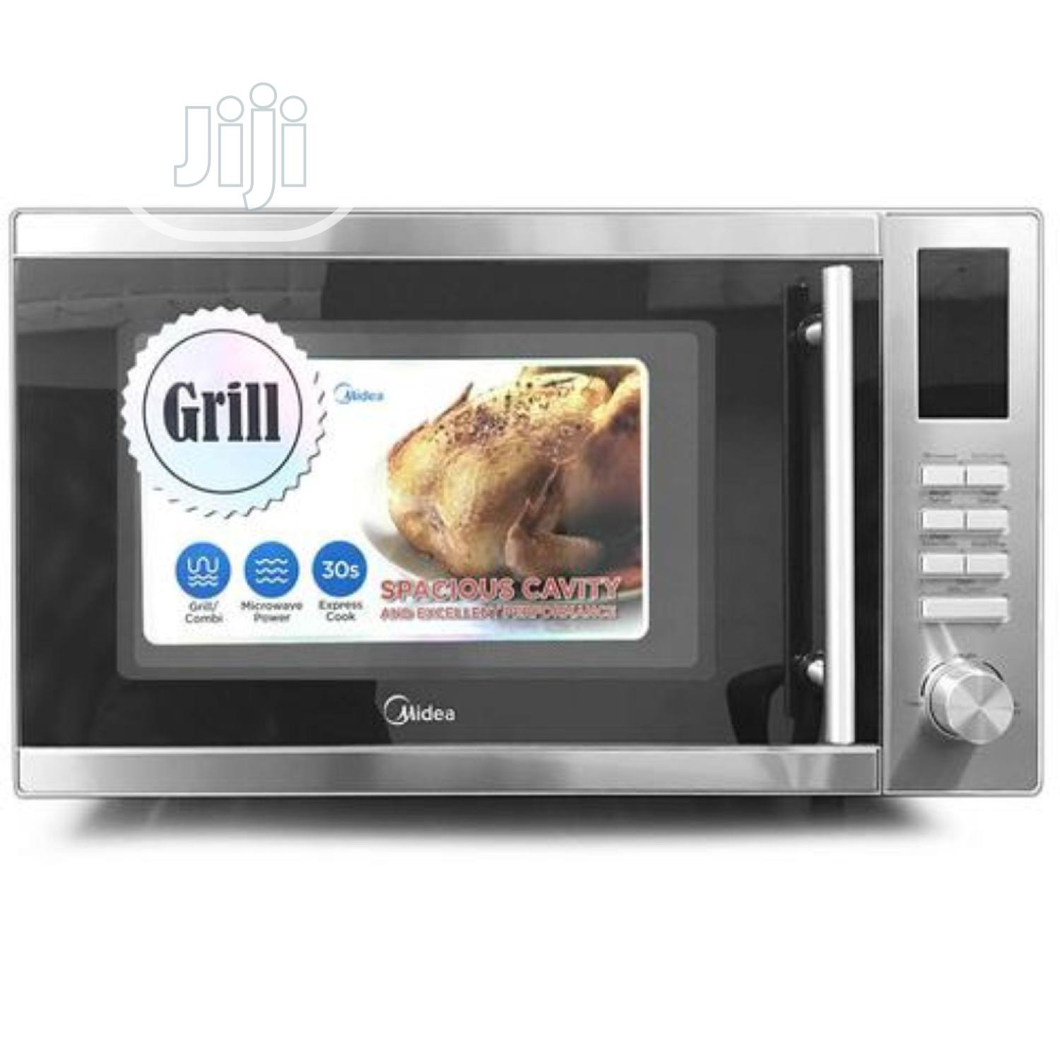 Archive: Midea Microwave Oven Ac925eyg 25lts, Silver Digital Control