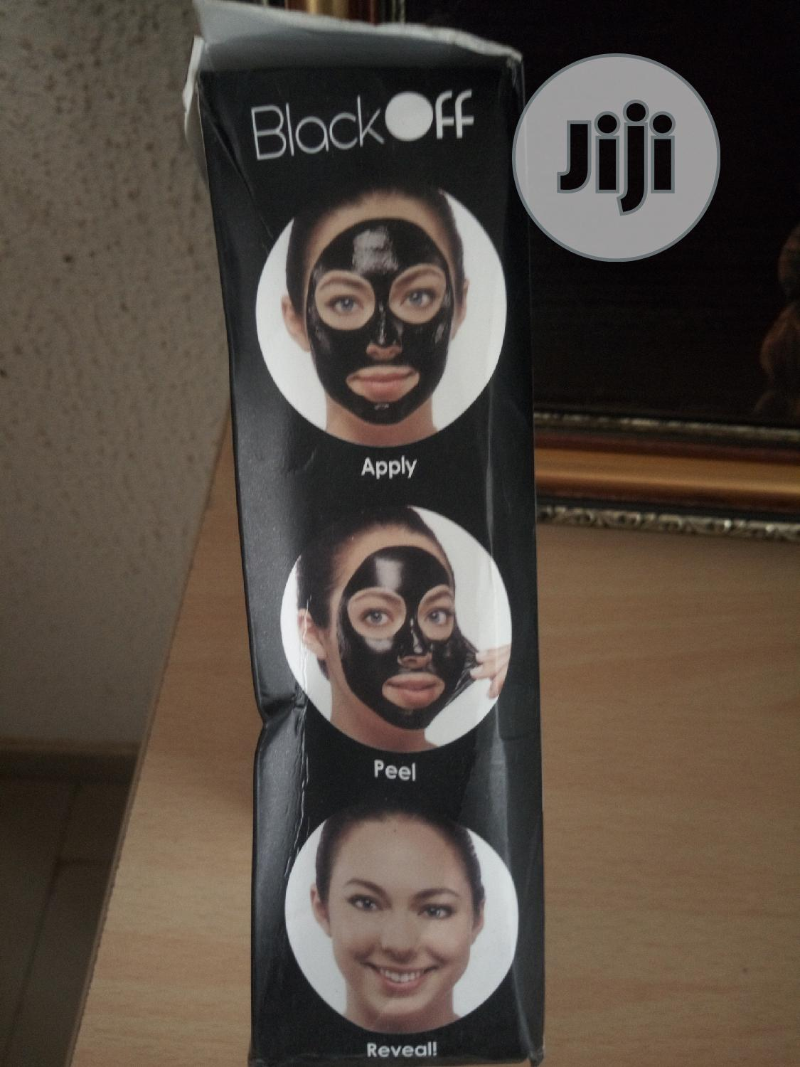Black Off Activated Charcoal Mask. | Skin Care for sale in Kubwa, Abuja (FCT) State, Nigeria