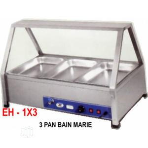 Industrial Electric Heated 3 Pans Bain Marie Showcase   Restaurant & Catering Equipment for sale in Lagos State, Ikeja