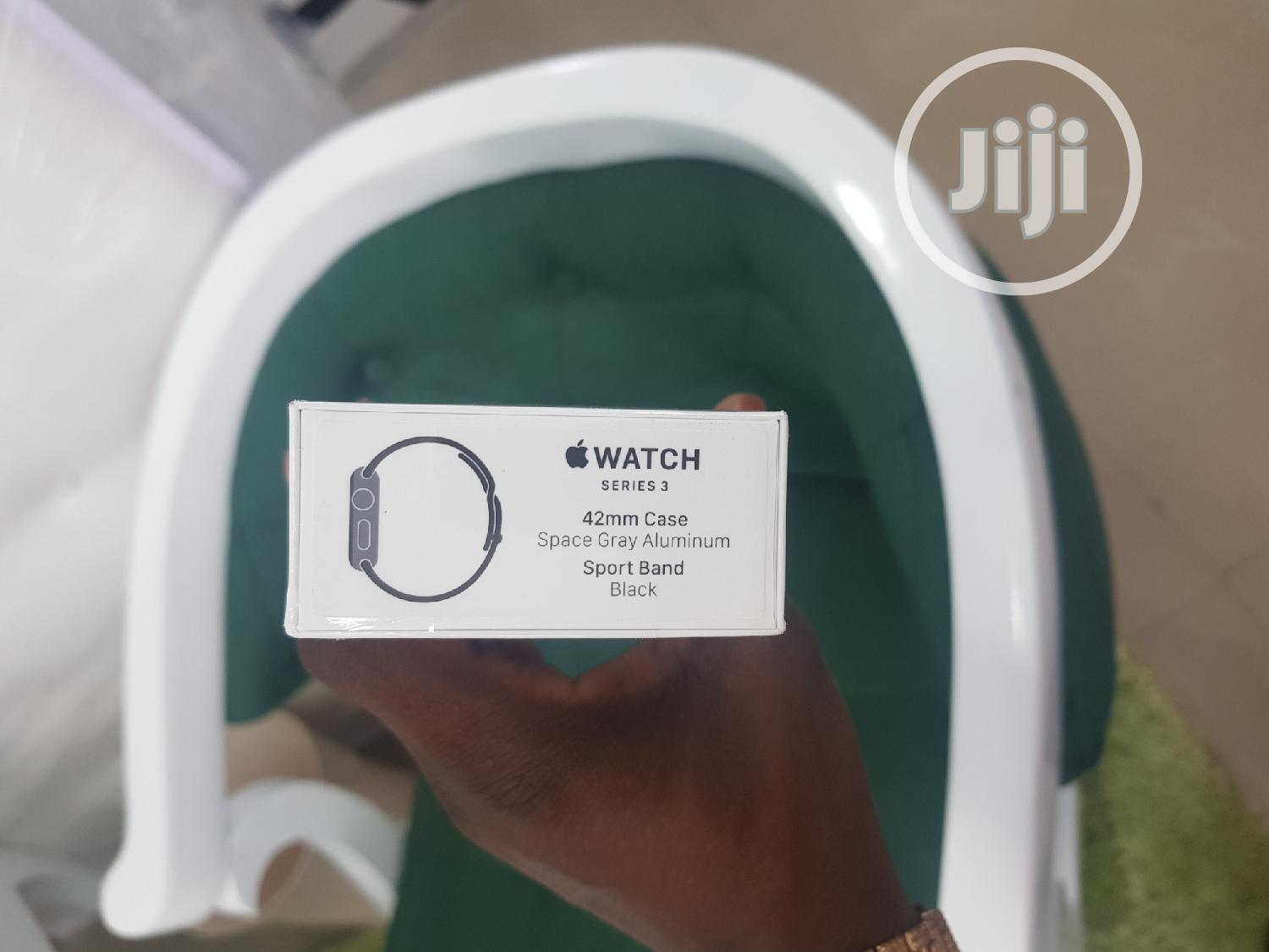 Apple Iwatch Series 3 38mm GPS Only | Smart Watches & Trackers for sale in Ikeja, Lagos State, Nigeria