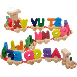 Alphabet Wooden Educational Train Toy( FREE DELIVERY) | Toys for sale in Oyo State, Ido