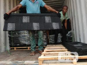 Bamaco Shingles Black With White Patch | Building Materials for sale in Lagos State, Ikeja