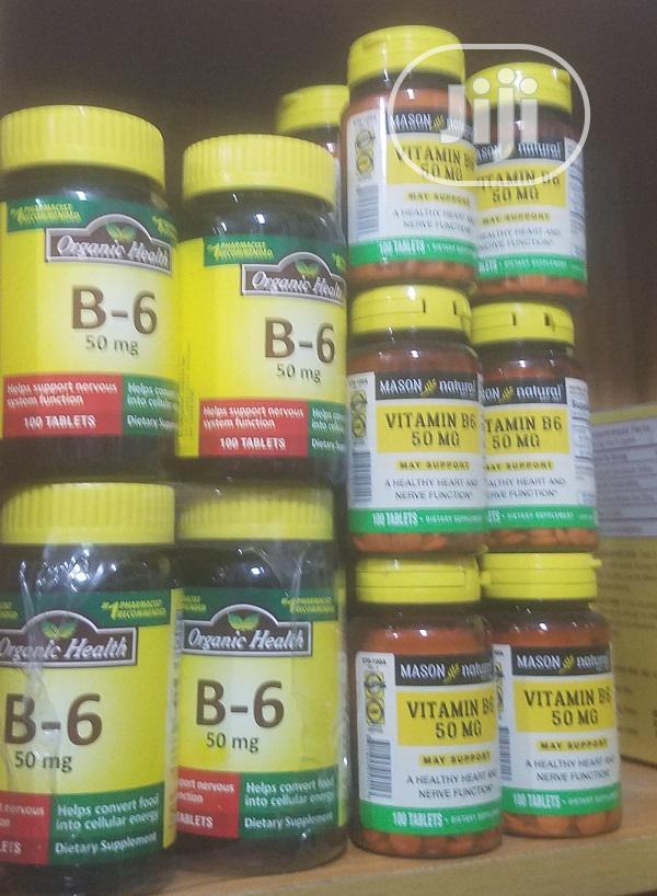 Vitamin B6/Mason Natural/Organic Heath