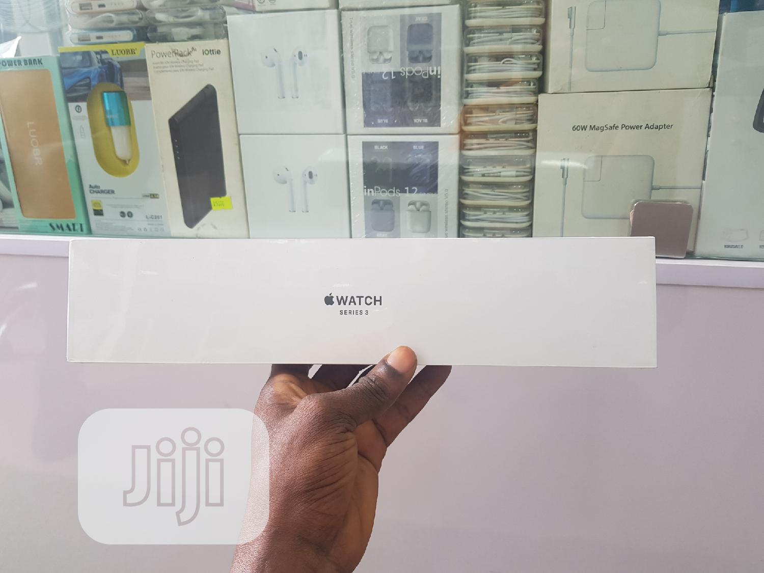 Apple Iwatch Series 3 42mm GPS Only | Smart Watches & Trackers for sale in Ikeja, Lagos State, Nigeria