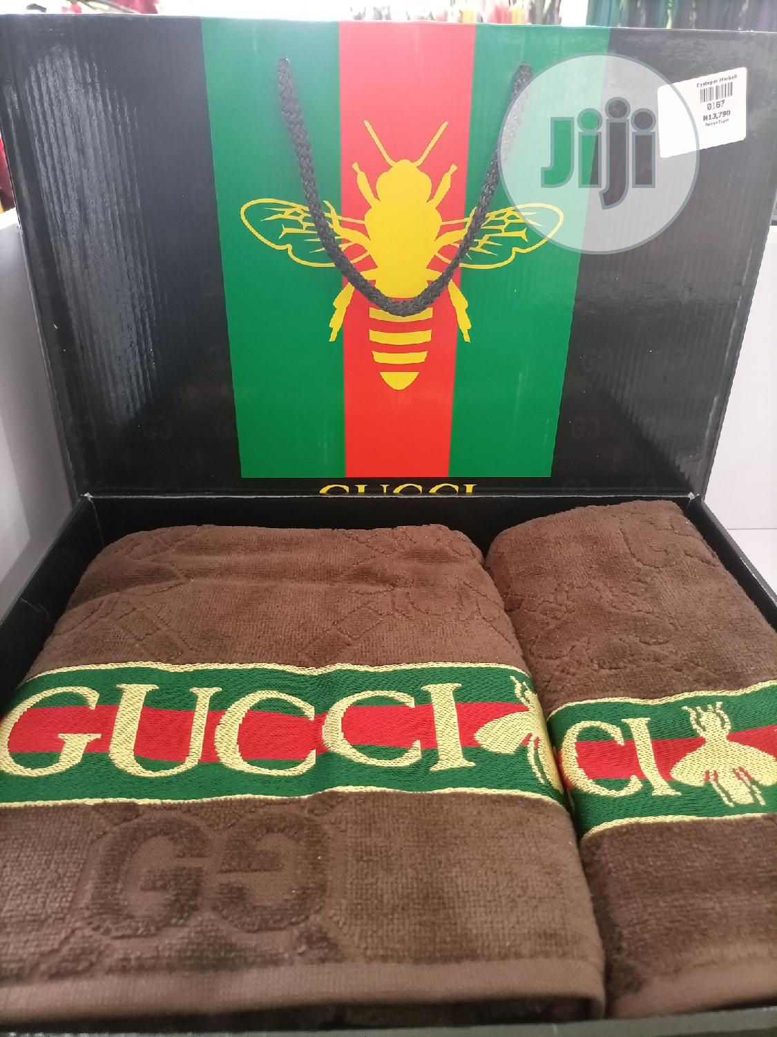Designer's Gucci Towels