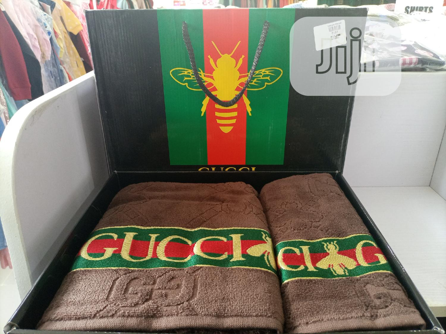Designer's Gucci Towels | Home Accessories for sale in Gwarinpa, Abuja (FCT) State, Nigeria
