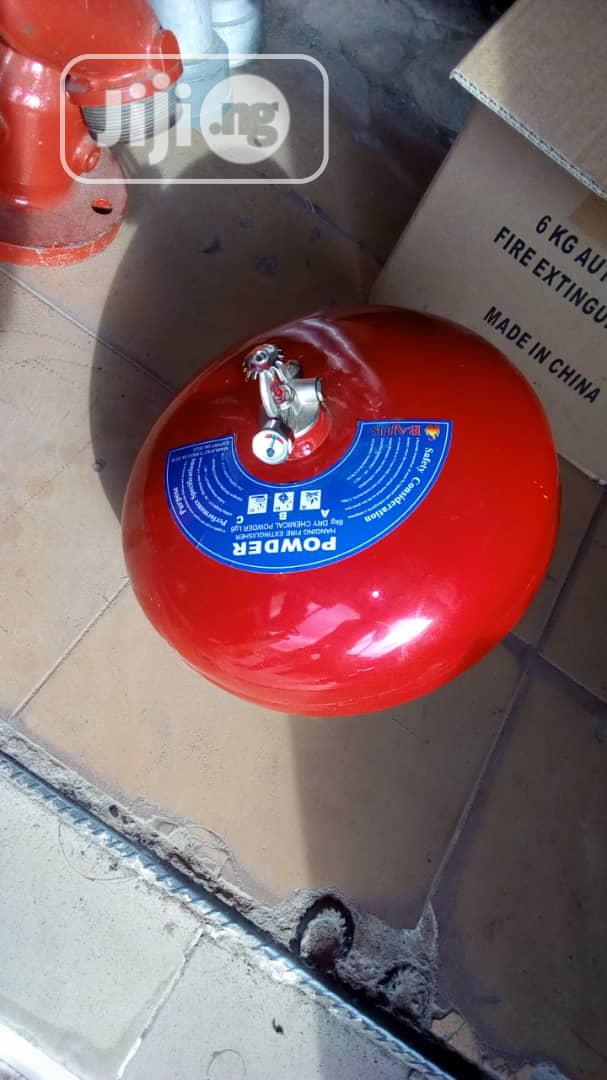 6kg Automatic Fire Extinguisher   Safetywear & Equipment for sale in Apapa, Lagos State, Nigeria
