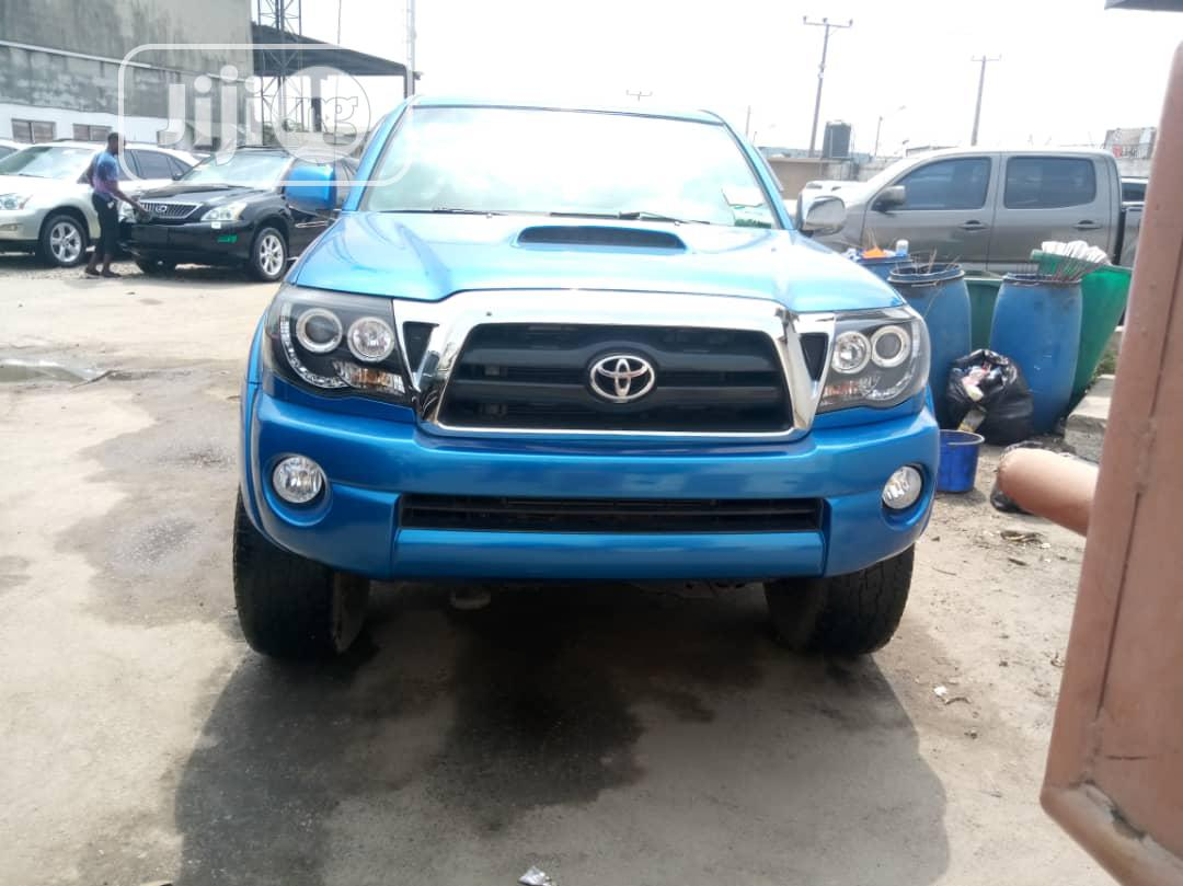 Toyota Tacoma 2008 PreRunner Blue | Cars for sale in Apapa, Lagos State, Nigeria