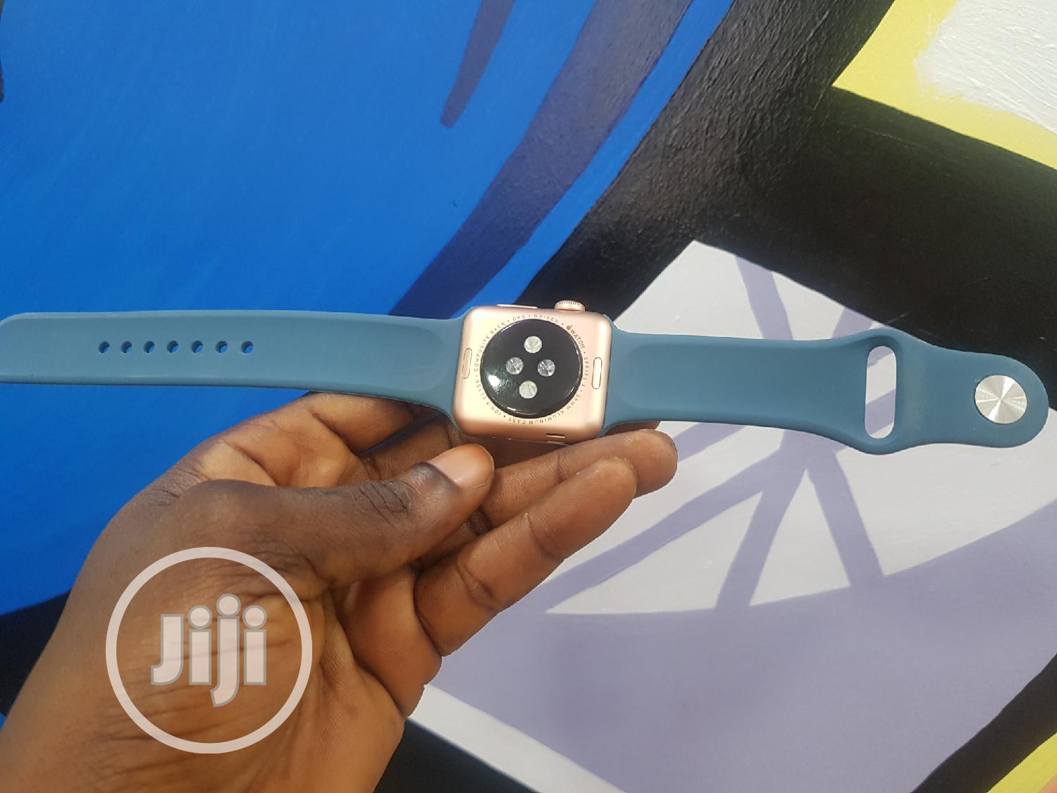 UK Used Apple Iwatch Series 3 38mm GPS Only | Smart Watches & Trackers for sale in Ikeja, Lagos State, Nigeria