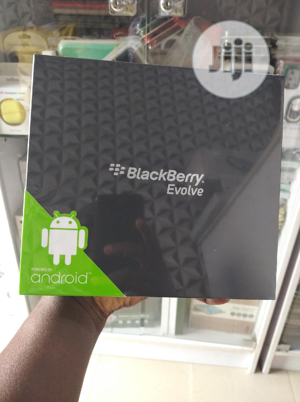 New BlackBerry Evolve 64 GB Black