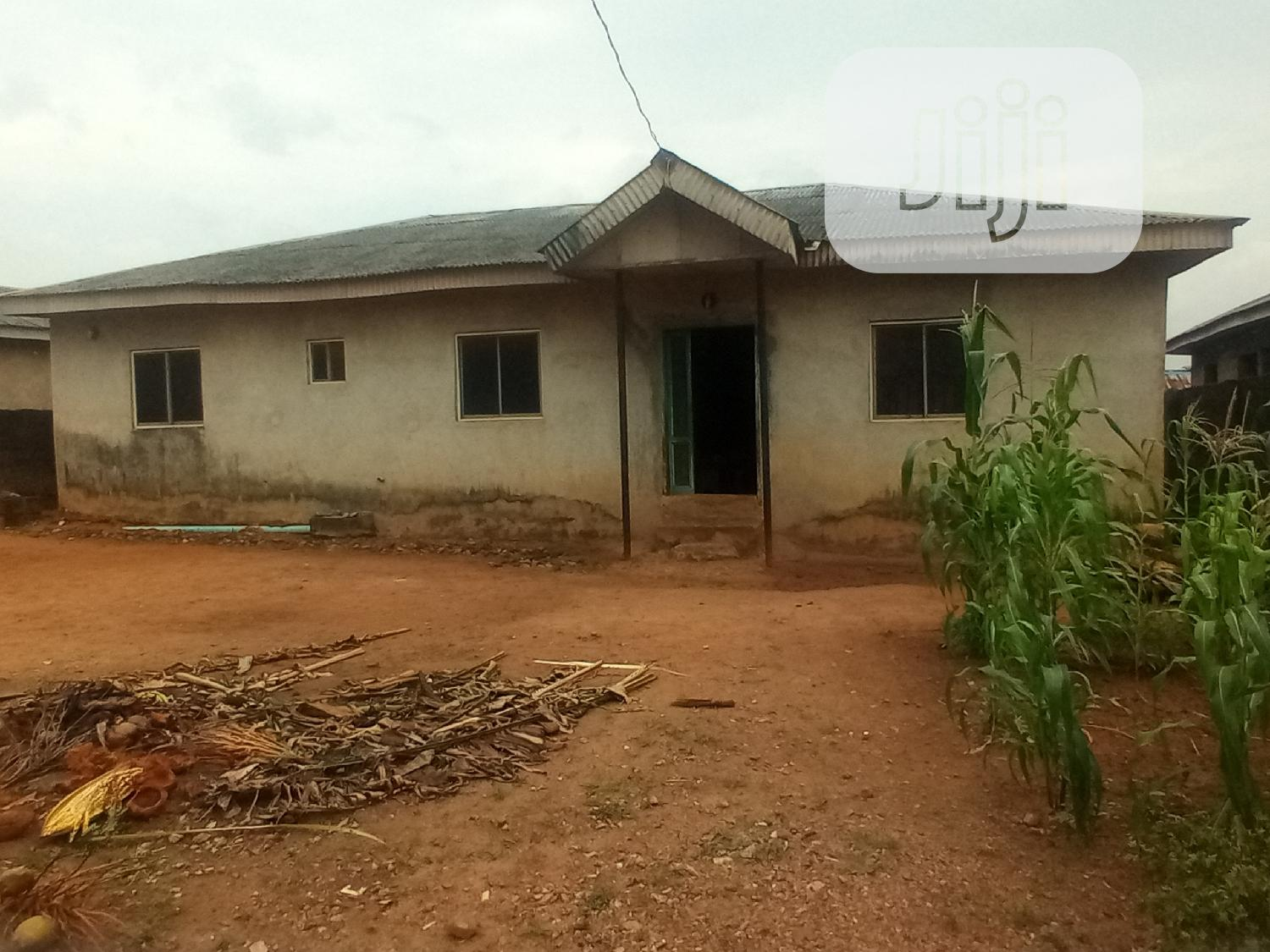 4 Bedroom Bungalow With A Shop On A Plot At Ayobo For Sale