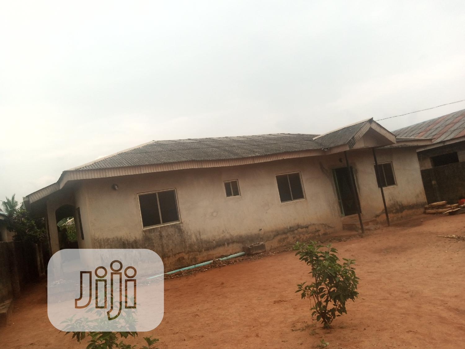 4 Bedroom Bungalow With A Shop On A Plot At Ayobo For Sale   Houses & Apartments For Sale for sale in Ayobo, Ipaja, Nigeria