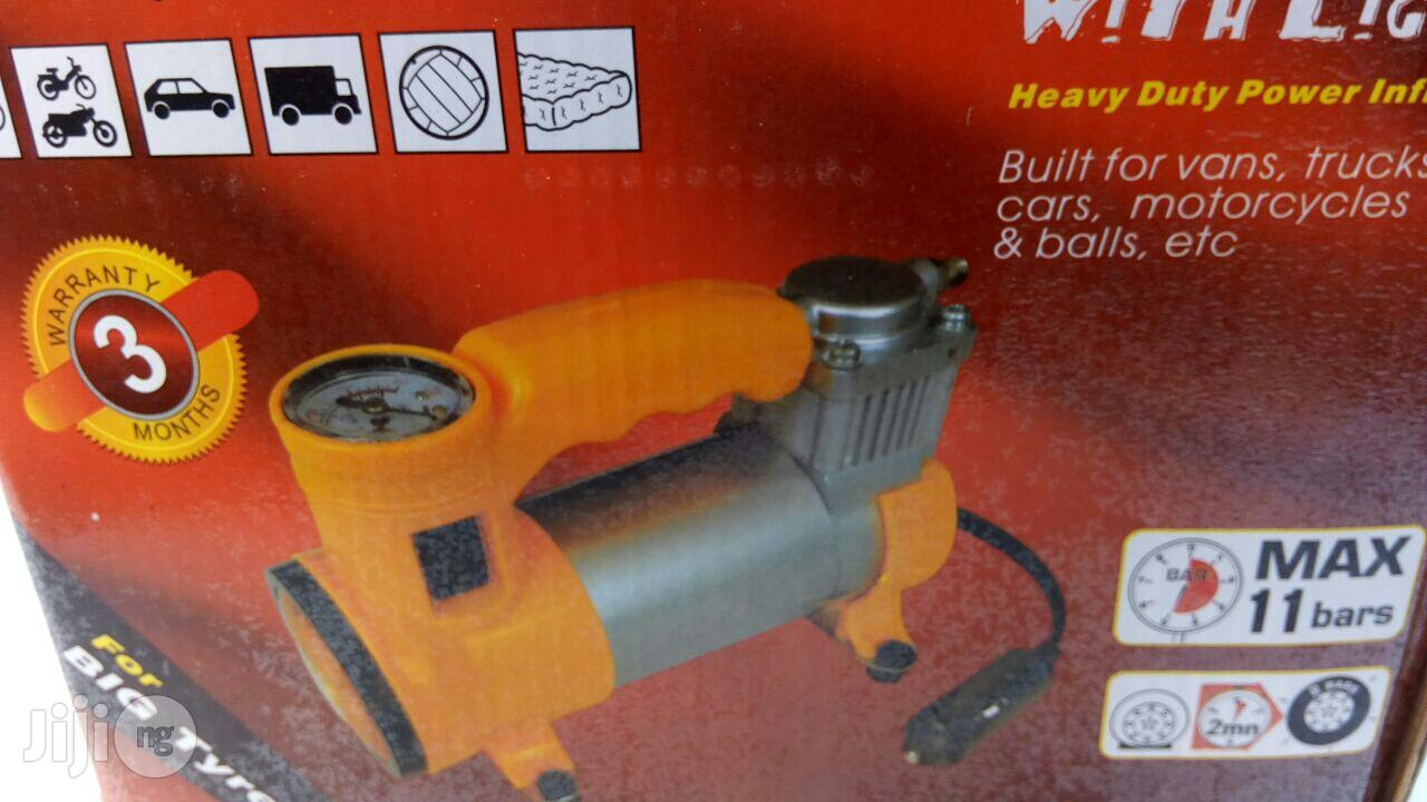 2-in-1 Air Compressor With Light (12V) | Vehicle Parts & Accessories for sale in Amuwo-Odofin, Lagos State, Nigeria