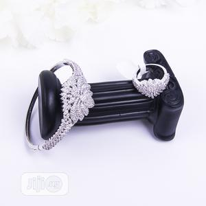 Bangle And Ring Set.... Also Available In 3tone.   Jewelry for sale in Lagos State, Ajah