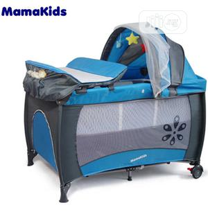 Mama Kids Play Pen - Foldable Baby Cot | Children's Furniture for sale in Lagos State, Agege