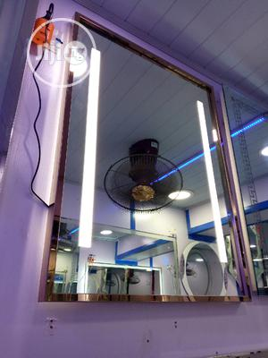 LED Gold Mirror | Home Accessories for sale in Lagos State, Orile